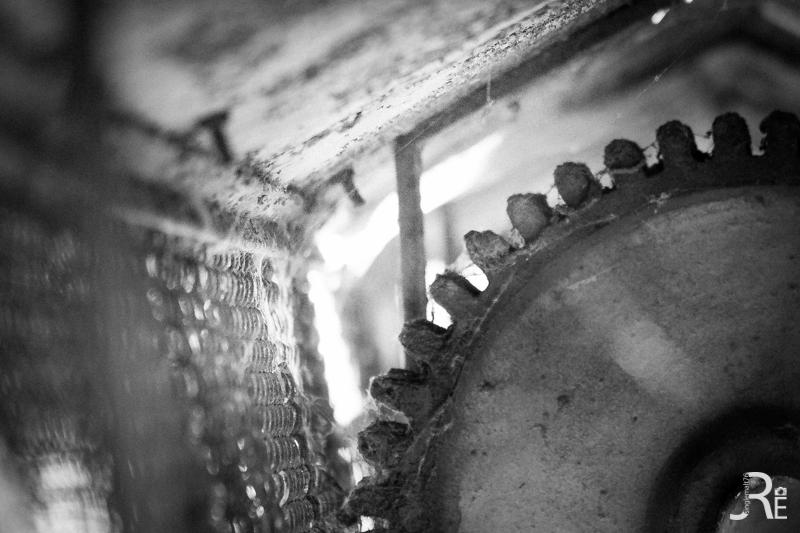 Rad eines Wasserwerks