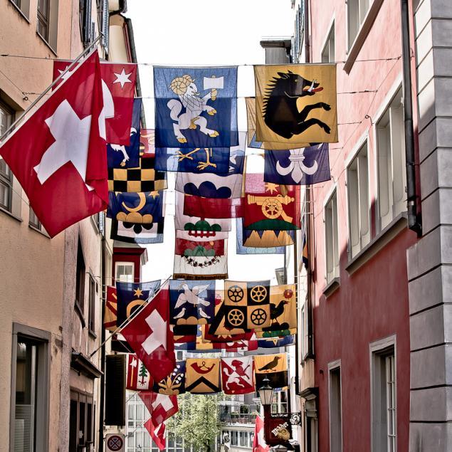 ...Flagge zeigen