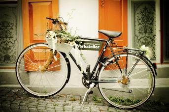 Fahrrad mal anders genutzt