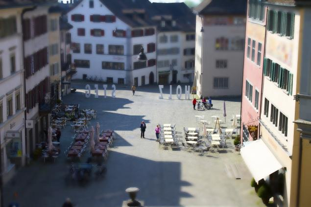 Tilt Shift Rapperswil Jona
