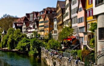 Tilt-Shift Tübingen