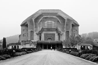 Das Goetheanum in Dornach (CH)