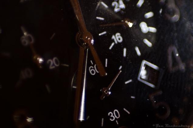 Wer hat an der Uhr gedreht...