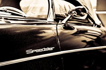 Old Porsche Speedster - Münsingen