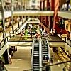 Tilt Shift in der Arneken Gallerie Hildesheim