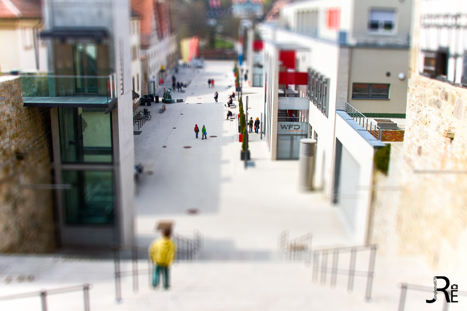 Tilt Shift: Schwbisch Hall