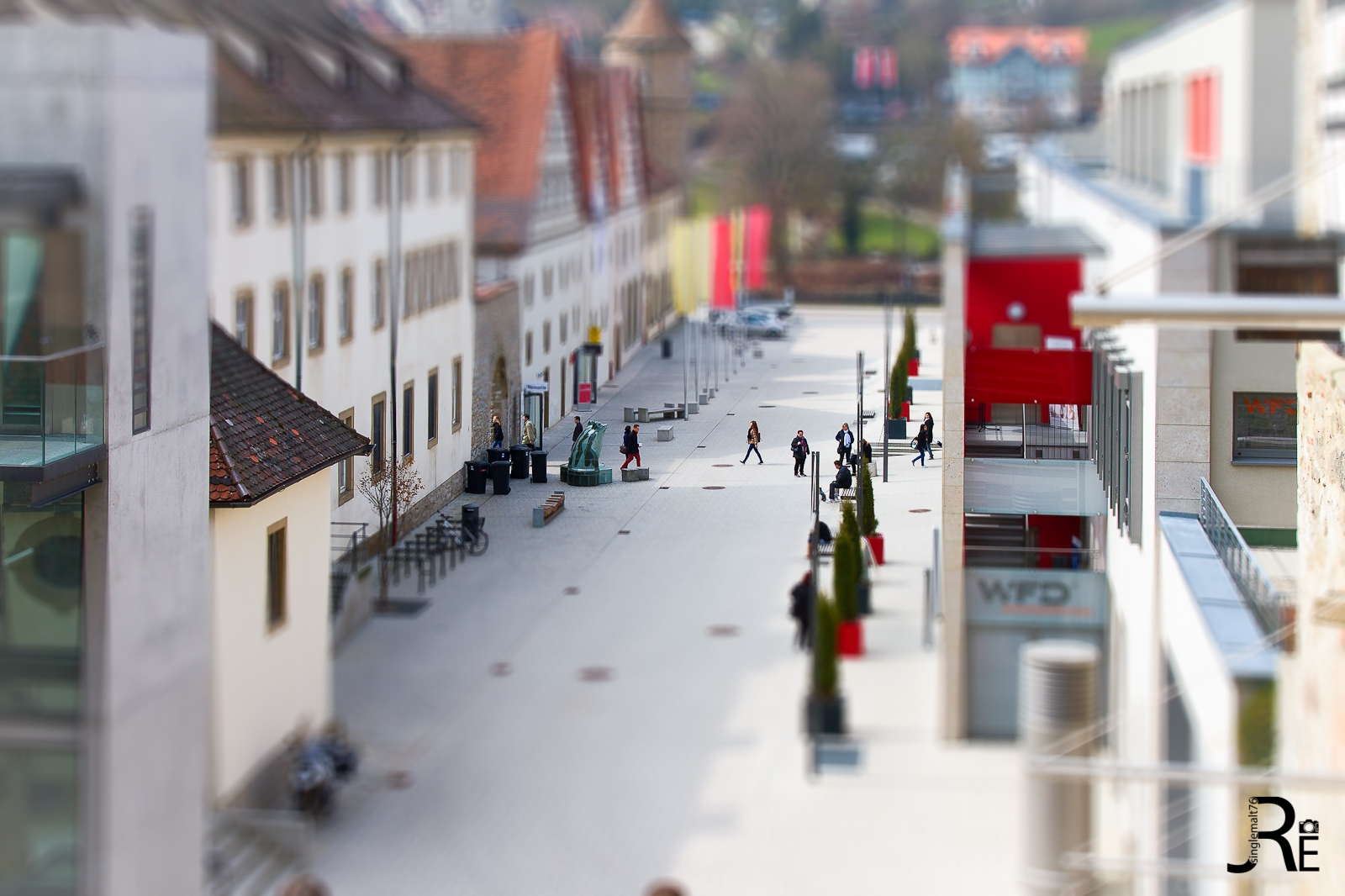 Tilt Shift - Schwbisch Hall #2 