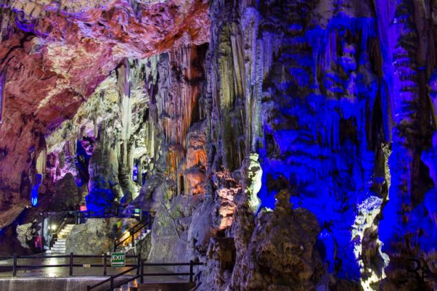 St. Michael's Cave auf Gibraltar...